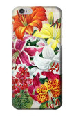 S3205 Retro Art Flowers Case For iPhone 6 6S