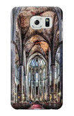 S3210 Santa Maria Del Mar Cathedral Case For Samsung Galaxy S6 Edge