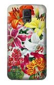 S3205 Retro Art Flowers Case For Samsung Galaxy S5 mini