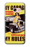 S3198 My Garage Pinup Girl Case For Samsung Galaxy A3 (2017)
