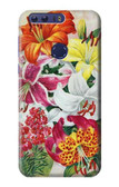 S3205 Retro Art Flowers Case For Huawei Honor 8