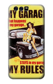 S3198 My Garage Pinup Girl Case For Huawei P10