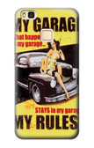 S3198 My Garage Pinup Girl Case For Huawei P9 Lite