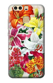 S3205 Retro Art Flowers Case For Huawei P9