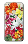 S3205 Retro Art Flowers Case For Huawei P8 Lite (2017)