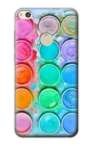 S3235 Watercolor Mixing Case For Huawei P8 Lite (2017)