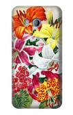 S3205 Retro Art Flowers Case For HTC U11