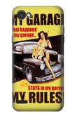 S3198 My Garage Pinup Girl Case For LG Q6