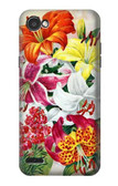 S3205 Retro Art Flowers Case For LG Q6