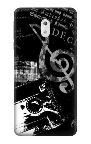 S3197 Music Cassette Note Case For Nokia 3