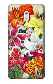 S3205 Retro Art Flowers Case For Nokia 3