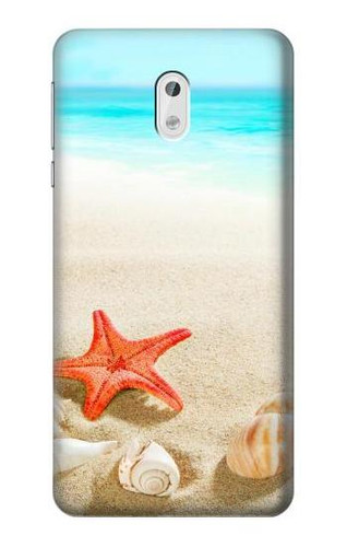 S3212 Sea Shells Starfish Beach Case For Nokia 3