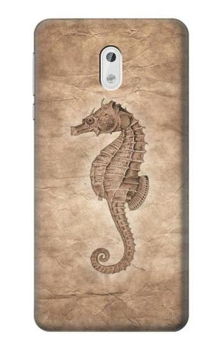S3214 Seahorse Old Paper Case For Nokia 3