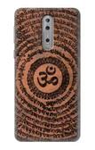 S2874 Om Symbol Tattoo Case For Nokia 8