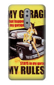 S3198 My Garage Pinup Girl Case For Nokia 8