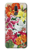 S3205 Retro Art Flowers Case For Huawei Mate 10 Lite