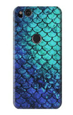 S3047 Green Mermaid Fish Scale Case For Google Pixel 2