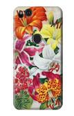 S3205 Retro Art Flowers Case For Google Pixel 2 XL