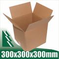 10 x Cardboard Boxes 300x300x300mm Cube