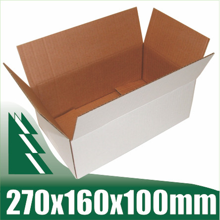 3ae09f67488 20 x White Cardboard Boxes Box for 3kg Australia Post Satchels ...