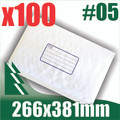 100 x #5 Bubble Mailers 266 x 381mm