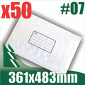 50 x #7 Bubble Mailers 361 x 483mm