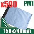 500 x #1 Poly Mailers 150 x 240 mm Courier Bag