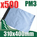 500 x #3 Poly Mailers 310 x 400 mm Courier Bag