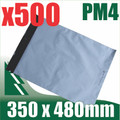 500 x #4 Poly Mailers 350 x 480 mm Courier Bag