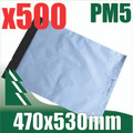500 x #5 Poly Mailers 470 x 530 mm Courier Bag