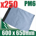 250 x #6 Poly Mailers 600 x 650 mm Courier Bag