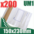 200 x #1 Utility Mailer 150 x 230 mm Tough Bag