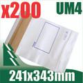 200 x #4 Utility Mailer 241 x 343 mm Tough Bag