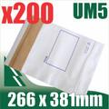 200 x #5 Utility Mailer 266 x 381 mm Tough Bag