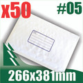 50 x #5 Bubble Mailers 266 x 381mm