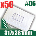 50 x #6 Bubble Mailers 317 x 381mm