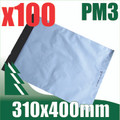 100 x #3 Poly Mailers 310 x 400 mm Courier Bag