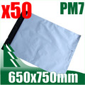 50 x #7 Poly Mailers 650 x 750 mm Courier Bag