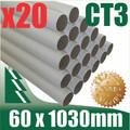 20 x Mailing Tubes 60 x 1.5 x 1030mm