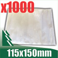 1000 x Clear Invoice Enclosed Pouches