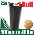 1 Roll 500mm x 400mm 25um Black Film