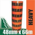 6 x Rolls Heavy Tape Fluoro Orange 48mm x 66m
