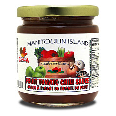 Forget ketchup, this chutney is excellent with egg dishes and especially nice with tourtière.
