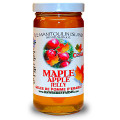 This very Canadian jelly made with apples and maple syrup. An excellent jam on toast, bagels or ice cream.