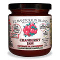 The fruit tastes so fresh in these no sugar added jams. We have removed all the concentrated white grape juice from our recipes, leaving us with a much better tasting product, packed with more fruit and even lower sugar! This incredibly spreadable version is void of fillers making it by far our best recipes ever! We are very happy :) Use this tart cranberry jam on toast or as a no sugar alternative for your turkey dinner.