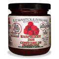 The fruit tastes so fresh in these no sugar added jams. Our raspberry jam has lots of seeds and lots of flavour.