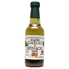 Roasted Garlic & Spinach