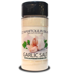 Garlic Salt for all your cooking and shaking needs!