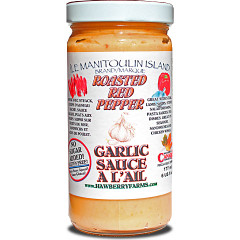 Roasted Red Pepper Garlic Sauce!