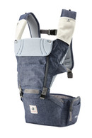 NEO NO.5 ~ Pognae Upgraded Waterproof Hipseat Carrier - Denim Blue